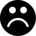 unhappy,face icon