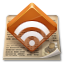rss, feed, news icon