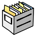 file, storage, paper, document icon
