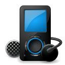 sansa, mp3, sandisk, player icon