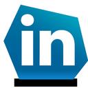social, linked in, linkedin icon