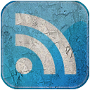rss, subscribe, grunge, blue, feed icon