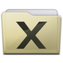 beige folder system icon