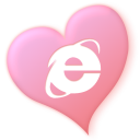 love, iexplorer, valentine, heart icon