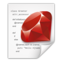 Mimetypes application x ruby icon