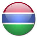 gambia,flag,country icon