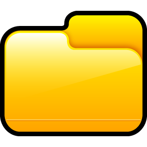 folder, closed icon