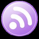 Feeds Lilac 256x256 icon