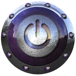Off Power Icon 90 Purple Icon Sets Icon Ninja