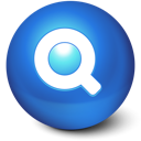 find, magnifying glass, zoom, search, cute, ball icon