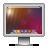 monitor, screen, lensflare, display icon