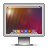 screen,lensflare,monitor icon