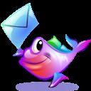 animal,fish,mail icon