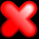cancel, no, stop icon