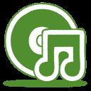 green music cd icon