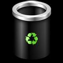 empty, bin, blank icon
