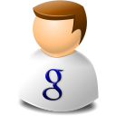 Google, texto, User, Web icon