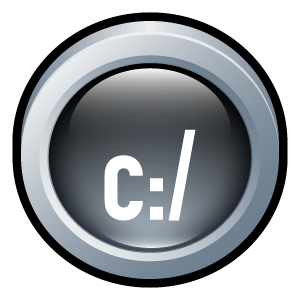 badge, command, prompt icon