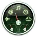 dashboard, matrix icon