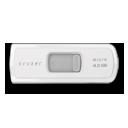 white, micro, cruzer icon