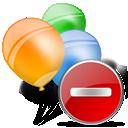 Delete, Folder icon
