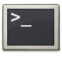 prompt, commandline, shell, terminal icon