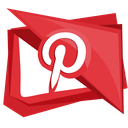 interest, media, pinterest, social, pin icon