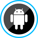 android, media, corporate, logo, social icon