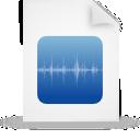 blue, file, document, paper icon
