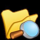 folder yellow explorer icon