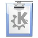 paste, clipboard, klipper icon
