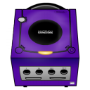 gamecube, purple icon