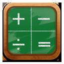 Calculator, Green icon