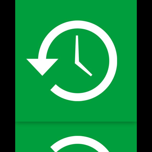 system, mirror, restore icon