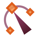 Actions tool node editor icon