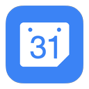 flurry, calendar, google icon