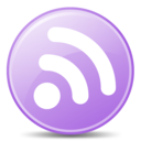 feed,lilac,rss icon