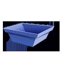 trash, empty icon