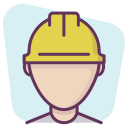 profile, manager, professional, construction, account, builder, worker icon
