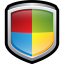 windows, security, shield, center icon