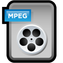 file, video, document, paper, mpeg, mpg icon