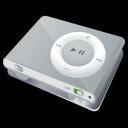 ipod, silver, shuffle icon