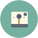 photography, polaroid, camera, photo, instagram, picture, image icon