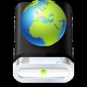 drive,web,globe icon