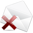 remove, delete, message, letter, email, envelop, del, stock, mail icon