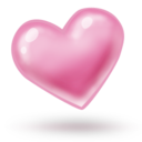pink,heart,valentine icon
