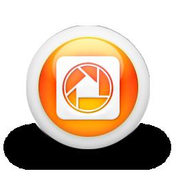 picasa, square, logo icon