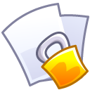 lock,file,paper icon
