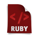 page, ruby icon