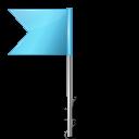 base, flag, left, marker, map, azure icon